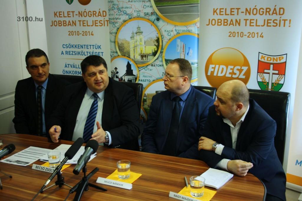 3100.hu Fotó: Farkas Attila, Becsó Zsolt, Skuczi Nándor és Nagy-Majdon József