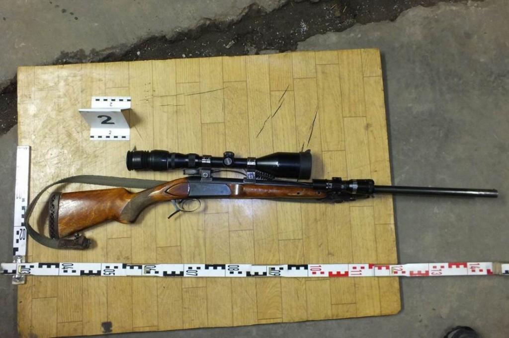 A lefoglalt fegyver (Forrás: www.police.hu)