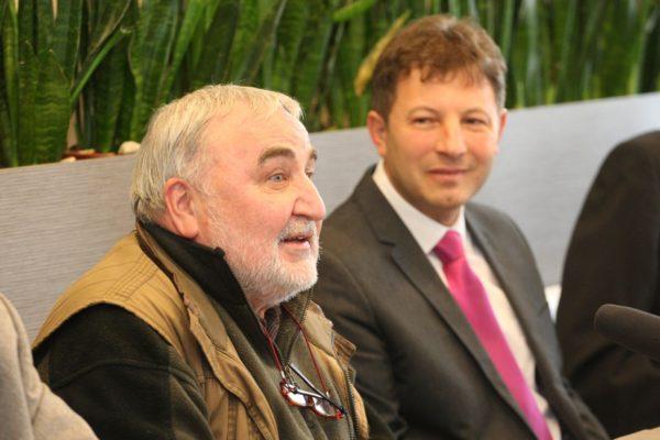 Mikó István a Tarjáni Tavasz sajtótájékoztatóján (Fotó: Gyurkó Péter)