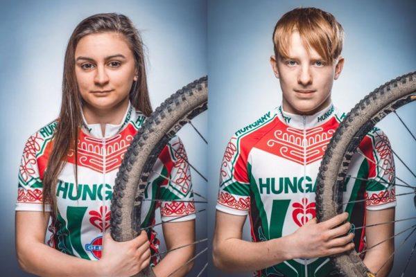 Csikány Bianka és Varga Dániel (Fotó: MKSZ)