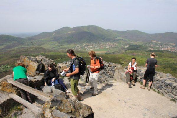 Ellenőrző pont Salgó várában (Forrás: www.nosza.info)