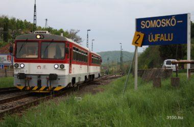 3100.hu Archív Fotó: Az utolsó vonat hagyja el Somoskőújfalu állomását