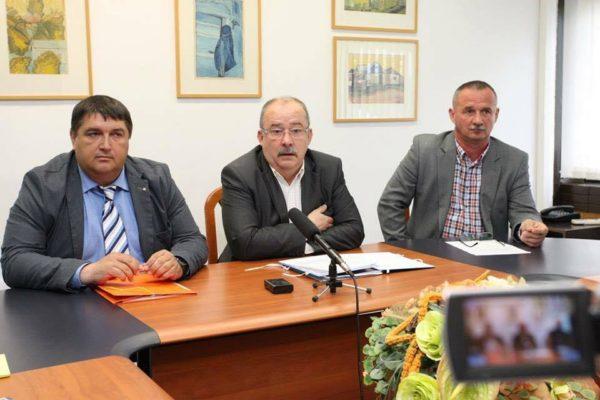 Becsó Zsolt, Dóra Ottó, Fekete Zsolt (Forrás: Becsó Zsolt országgyűlési képviselő | Facebook)