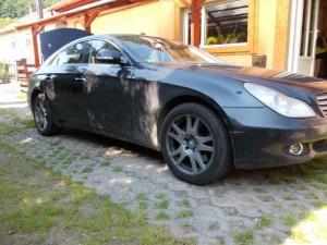 Lefoglalt autó (Forrás: www.police.hu)