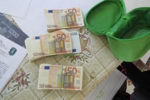 Lefoglalt készpénz (Forrás: www.police.hu)