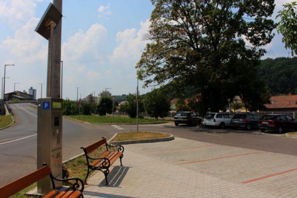 3100.hu Fotó: Fizetőssé vált a Fükeki úti körforgalomnál található parkoló