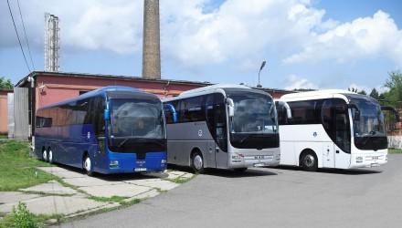 A Salgótarjáni Területi Igazgatóságnál forgalomba állított autóbuszok (Forrás: Volán Újság)