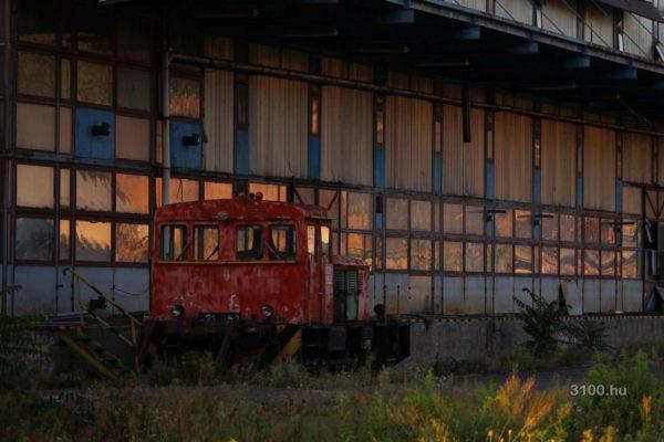3100.hu Fotó: Az egykori acélgyár területe egyre nyomasztóbb képet mutat...