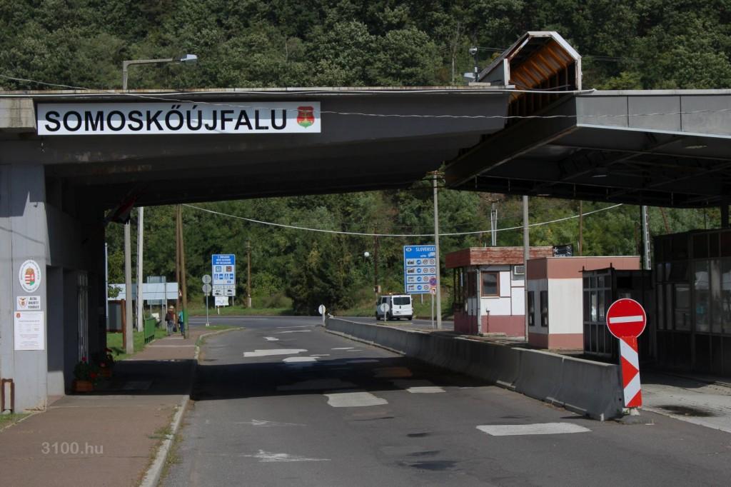 3100.hu Fotó: Somoskőújfalu határátkelőhelye