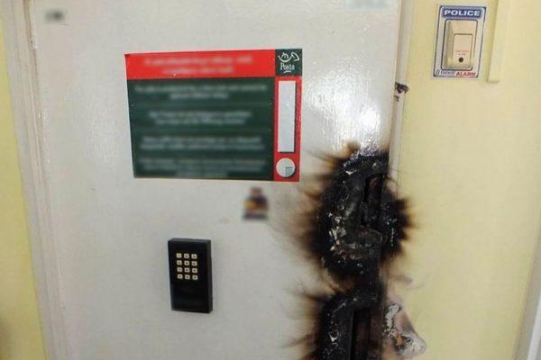 A karancsaljai postába így mentek be (Forrás: www.police.hu)