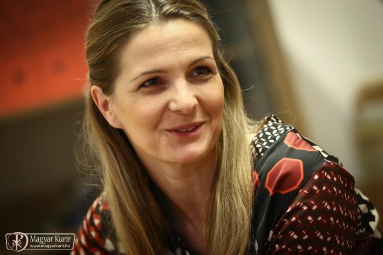 Marótyné Ugron Éva, a Mátraverebély-Szentkúti Nemzeti Kegyhely értékesítési igazgatója (Magyar Kurír Fotó: Lambert Attila)