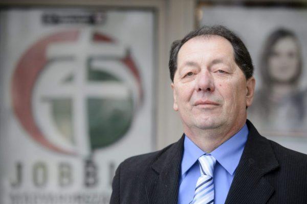 Hulitka István, a Jobbik Magyarországért Mozgalom polgármesterjelöltje (MTI Fotó: Komka Péter)