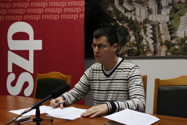 3100.hu Fotó: Molnár Károly, az MSZP salgótarjáni frakcióvezetője