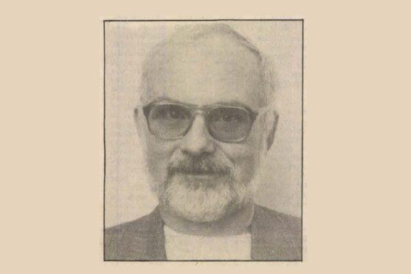 Speidl Zoltán képviselői mandátuma megszerzésekor, 1990-ben (Forrás: Új Nógrád, 1990. április 10.)