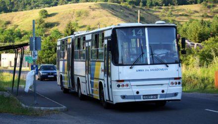 3100.hu Fotó: Többek között ezzel a 17 éves autóbusszal frissült a járműpark