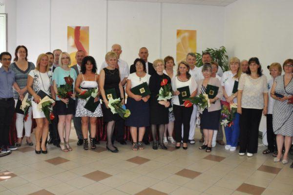 A kitüntetettek és a díjátadók (Fotó: Ubrankovics Zoltán)
