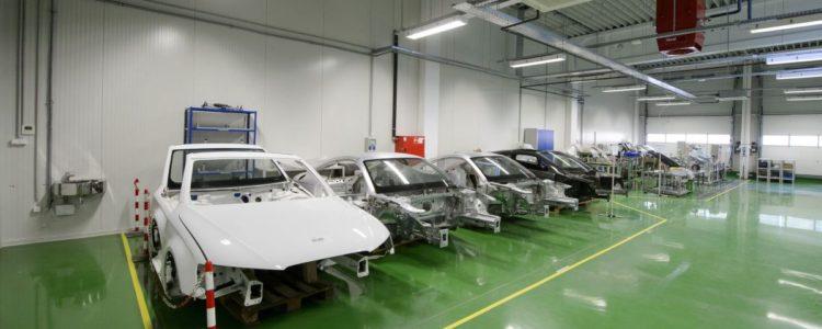 Az autóelektronikai berendezések gyártásával foglalkozó japán Mitsuba vállalatcsoport salgótarjáni üzeme 2016. szeptember 14-én, a kibővített üzemrész átadásának napján (MTI Fotó: Komka Péter)