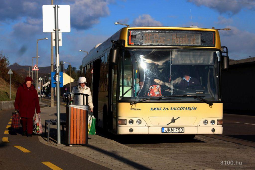 3100.hu Fotó: December 11-től a 3C jelzésű helyi járatokon kívül helyközi autóbuszokat is igénybe vehetnek majd az Eperjes-telepiek