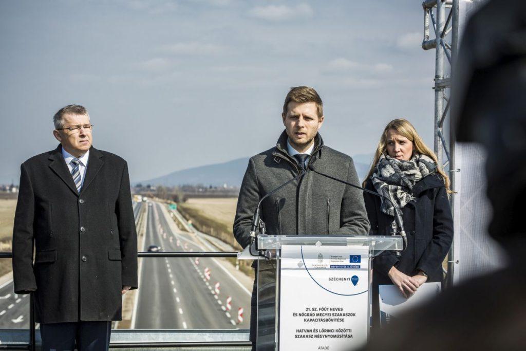 Juhász Zoltán, a NIF Zrt. útfejlesztési igazgató-helyettese (Fotó: Nemzeti Infrastruktúra Fejlesztő Zrt.)