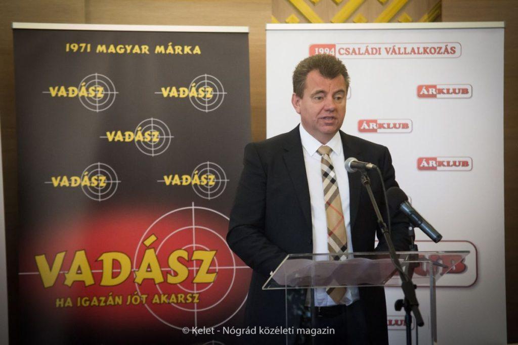 Tóth Csaba,az Árklub Kft. kereskedelmi és marketingigazgatója (Fotó: Kelet-Nógrád közéleti magazin | Facebook)