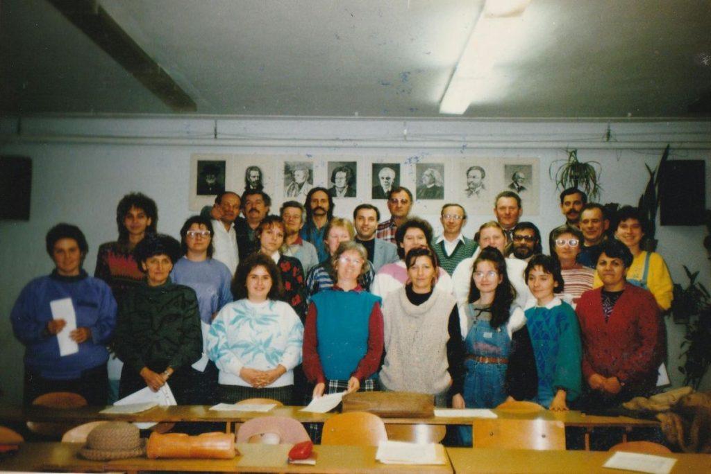A kórus 1991-ben