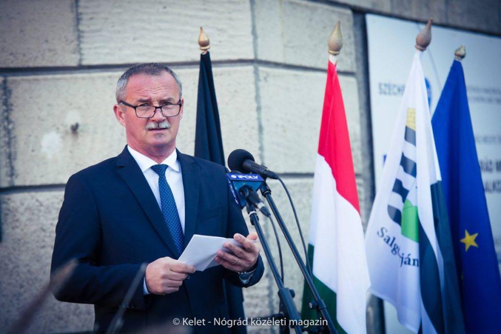 Fekete Zsolt, Salgótarján polgármestere (Fotó és további képek: Kelet-Nógrád közéleti magazin | Facebook)