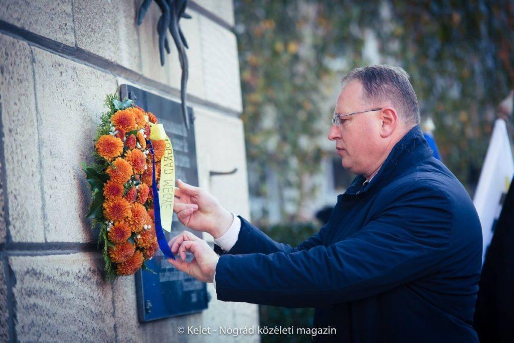 Skuczi Nándor, a Nógrád Megyei Önkormányzat Közgyűlésének elnöke (Fotó és további képek: Kelet-Nógrád közéleti magazin | Facebook)