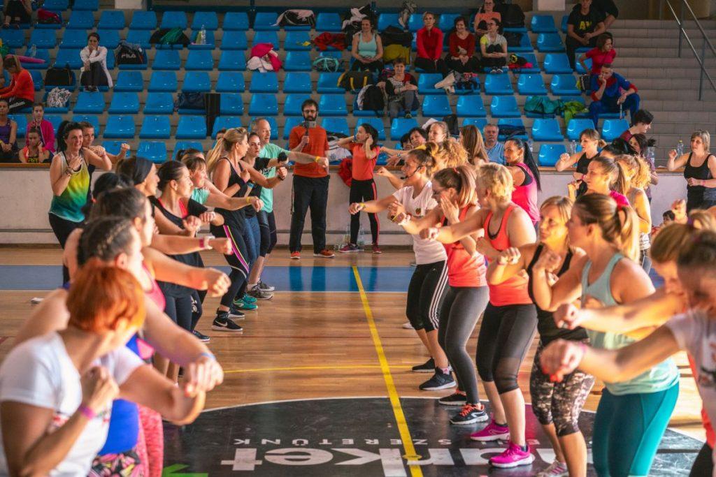 Pillanatkép a nyolcadik alkalommal megrendezett salgótarjáni Sportos Egészségnapról (Fotó: Rigó Gergely)