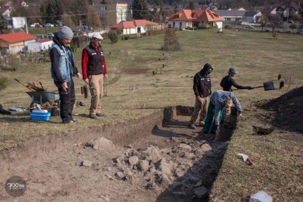 3100.hu Fotó: A feltárás aktív szakasza, még áprilisban