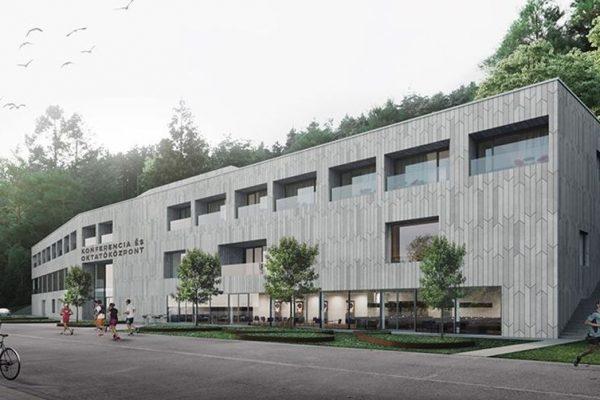 Konferencia- és oktatóközpontként éledhet újjá az egykori Strand Hotel (Forrás: Salgótarján Megyei Jogú Város Önkormányzata)