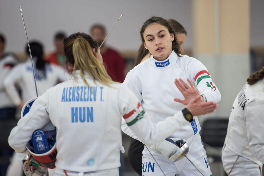 Barta Luca januárban azzal indította az évet, hogy a legjobb magyarként a tizedik helyen végzett a budapesti nemzetközi fedettpályás öttusaverseny női döntőjében, amelyet a brit Joanna Muir nyert meg (Fotó: pentathlon.hu)