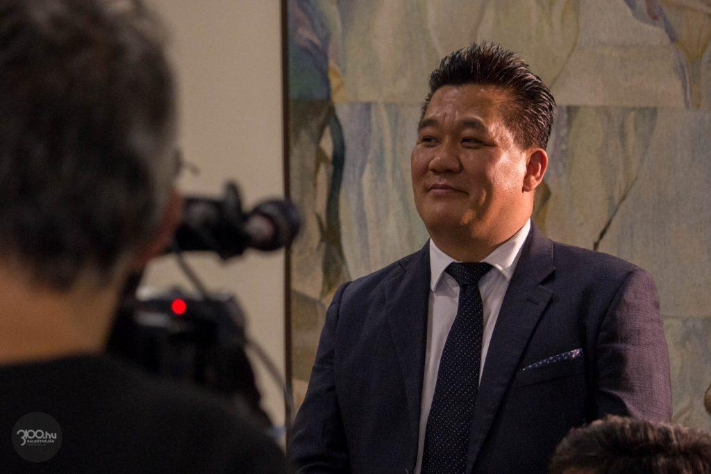 3100.hu Fotó: Ma Seong, a Bumchun Precision Hungary Kft. vezérigazgatója