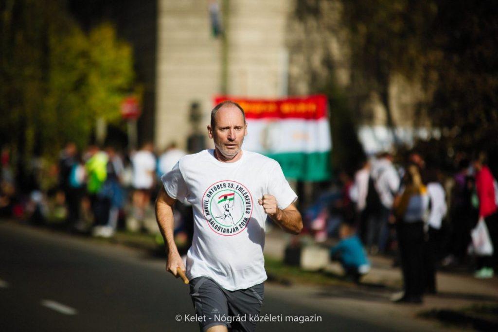 Salgótarjánban 28. alkalommal rendeztek emlékfutást október 23-án (Fotó és további képek: Kelet-Nógrád közéleti magazin | Facebook)