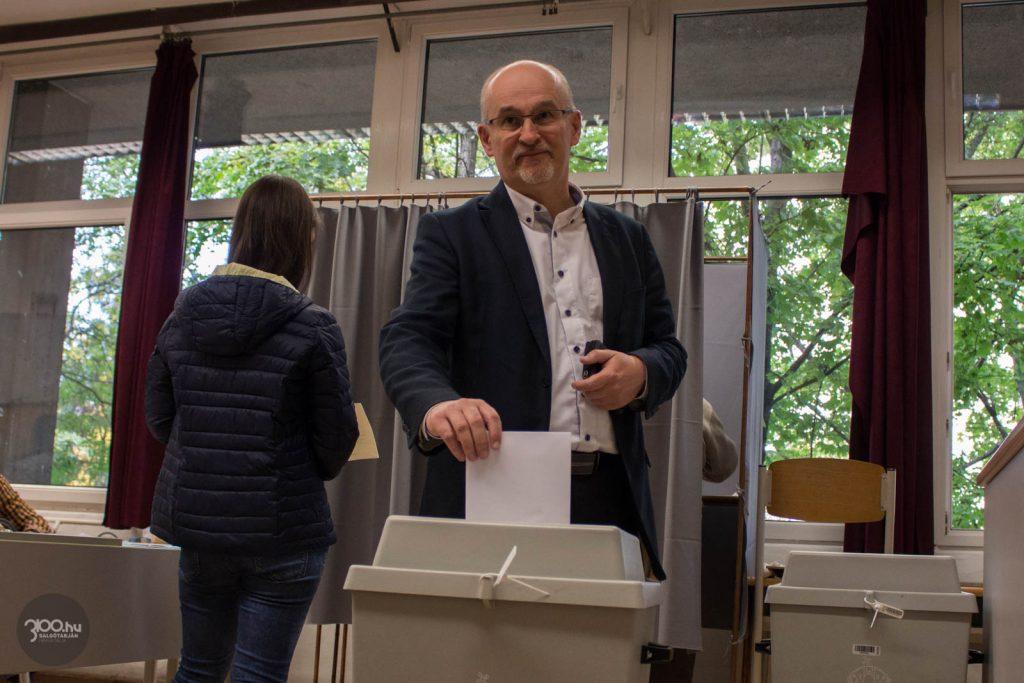 Szabó Csaba, a Fidesz-KDNP kormánypártok salgótarjáni polgármesterjelöltje