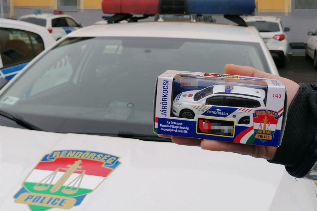 Ezt a játékautót sorsolja ki a Nógrád Megyei Balesetmegelőzési Bizottság (Fotó: a Nógrád Megyei Balesetmegelőzési Bizottság | Facebook)