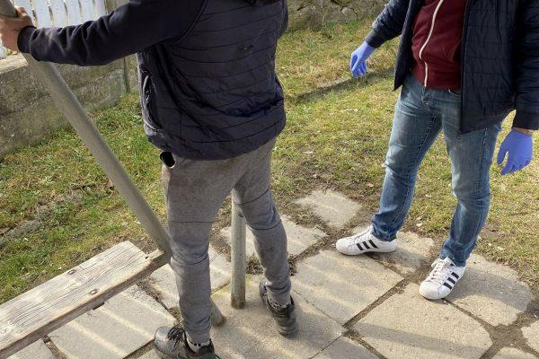 Rendőrkézen a kifosztás gyanúsítottja (Fotó: Nógrád Megyei Rendőr-főkapitányság)