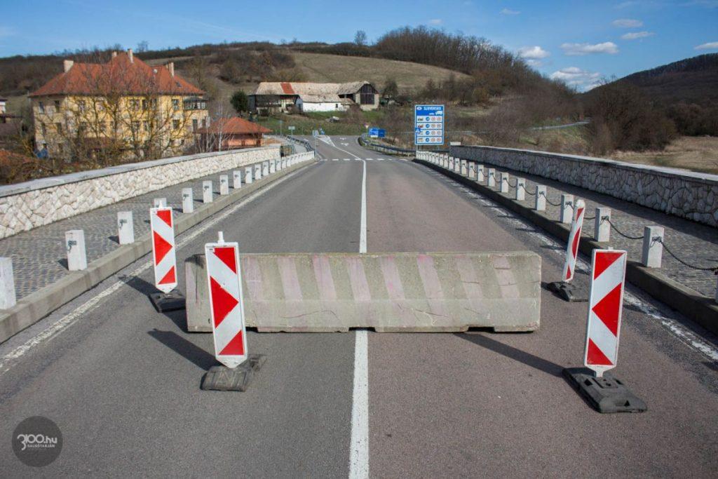 3100.hu Fotó: A Madách-híd, mint lezárt határátkelő pont Nógrádszakál-Ráróspuszta és Rárós között