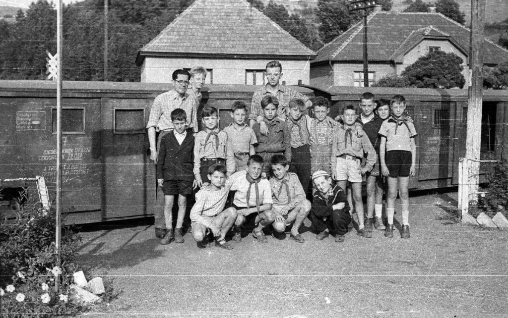 Jónásch-telep, 1957 (Fotó: Fortepan / Lipovits Károly)