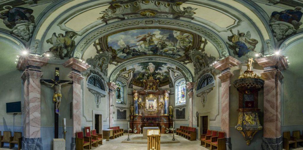 A Nagyboldogasszony-bazilika belső tere (Fotó: MTI/Komka Péter)