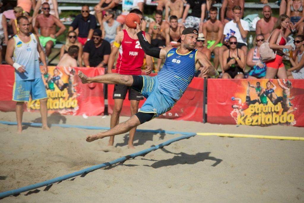 A Salgótarjáni Strandépítők KC férfi csapata a negyedik helyen zárta az országos döntőt (Fotó: Salgótarján | Facebook)