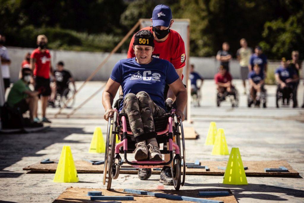 SalGO Wheelchair Charity Race kerekesszékesakadályverseny,2020. szeptember 5. (Fotó: Komka Péter)