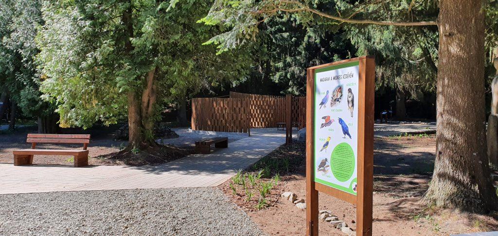 Nyár óta várja az érdeklődőket a Madárpark (Fotó: Városfejlesztési Iroda)
