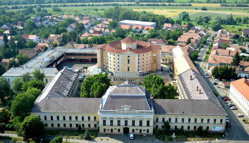 A Balassagyarmati Fegyház és Börtön épülete (Fotó: Balassagyarmati Fegyház és Börtön)