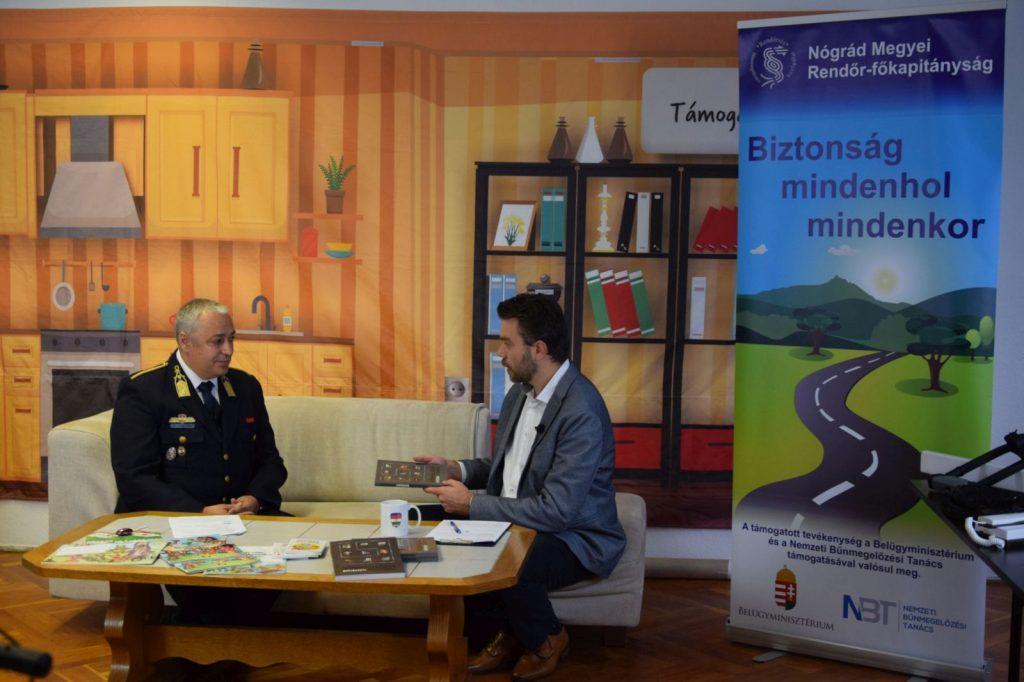 Pillanatkép az eseményről (Fotó: Nógrád Megyei Rendőr-főkapitányság)