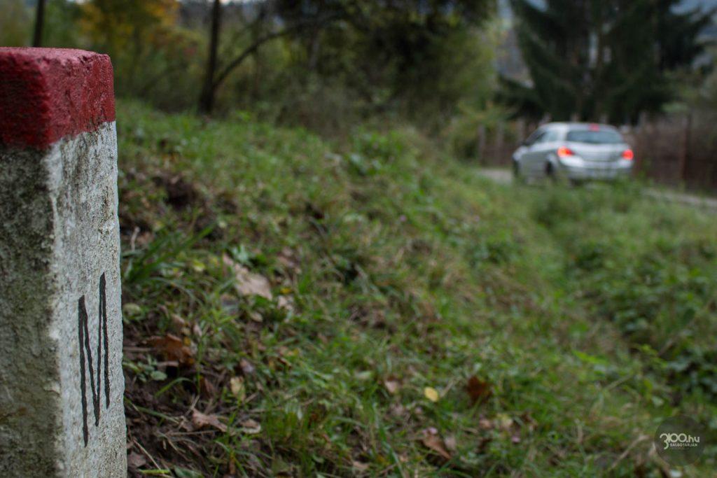 3100.hu Fotó: Módosult az országhatár a somoskőújfalui Bethlen Gábor utcánál
