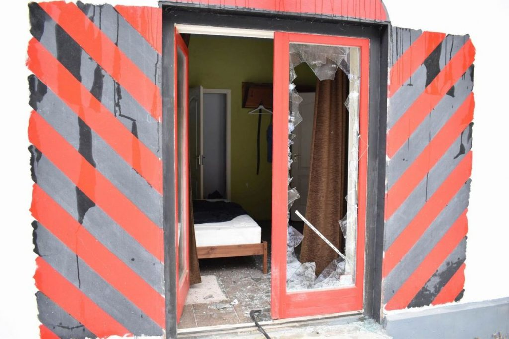 Egy ceredi ingatlan három épületébe is betörtek (Fotó: Nógrád Megyei Rendőr-főkapitányság)