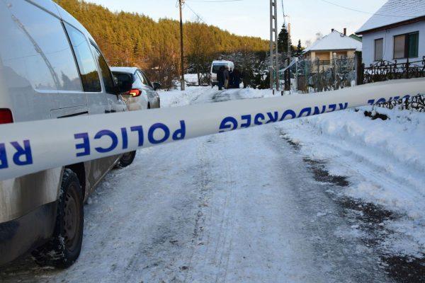 A rendőrök 2021. január 26-án találták meg az idős férfi holttestét (Fotó: Nógrád Megyei Rendőr-főkapitányság)