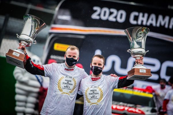 Torstein Eriksen és Mads Östberg (Fotó: Citroën Racing / Citroën | Facebook)