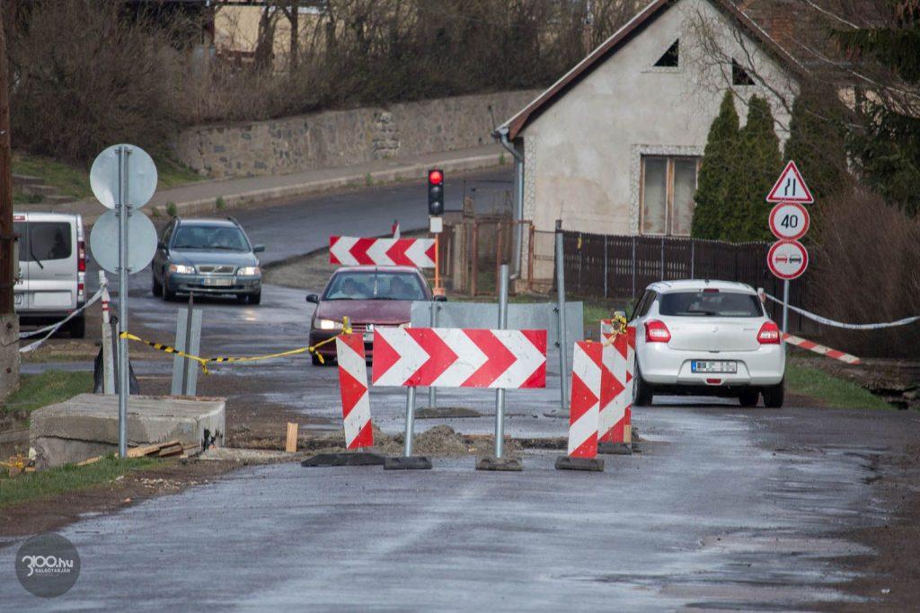 3100.hu Fotó: Teljes körú útfelújítás zajlik Etesen, illetve a község és Ságújfalu között