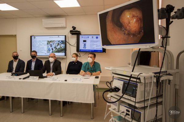 3100.hu Fotó:Egyedülálló gasztroenterológiai eszközt szerzett be a Szent Lázár Megyei Kórház